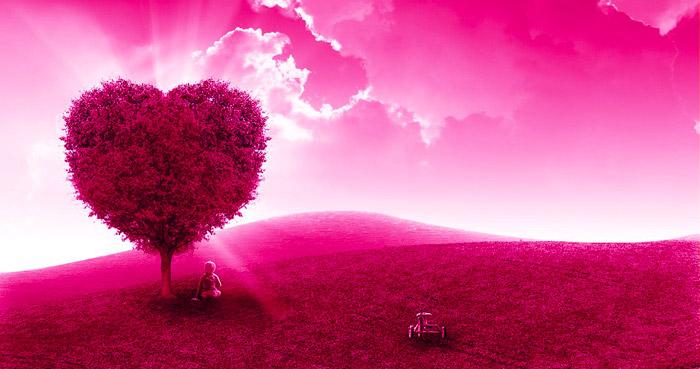 Arbre Coeur aime, savoure, ose, rayonne